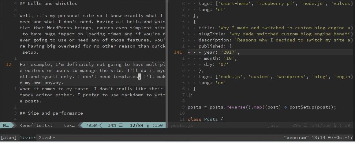 New Blog Engine